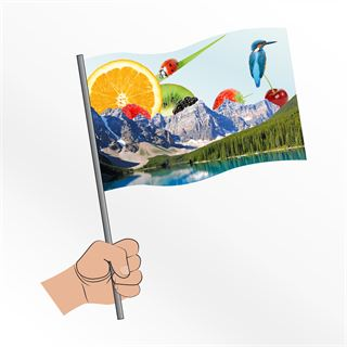 Handwavers and bespoke handwaving flags