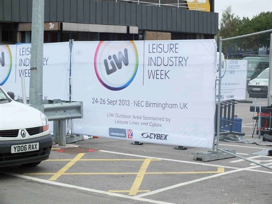 LIW - Events - Heras Fence Scrim - Fairlyn Mesh