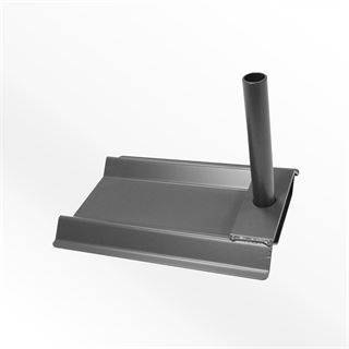 Car Base Plate - Drive on flag stand