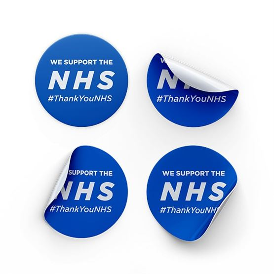 NHS Thank you window sticker