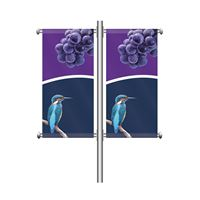Lamp Post Banner - Double