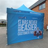 Custom Printed event tent