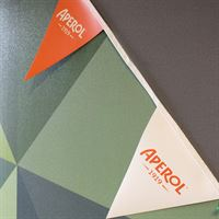 Triangle promotional custom bunting