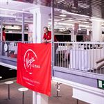 Virgin Wines Branded Fabric Banner