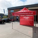 Lovell Custom Pop Up Event Tents