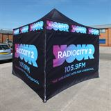 Radio City Custom Gazebo Printing