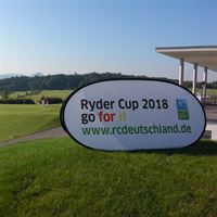 Ryder Cup Pop Out Banner