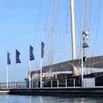 Cowes Habour - Showhome Pole Flags