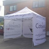 Cotswold Airport Custom Printed Gazebo
