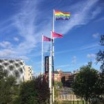 Playhouse Leeds Pride Flag