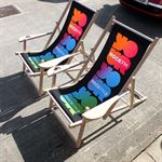 custom printed furniture - directors chairs
