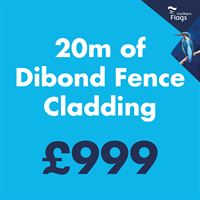 20m Dibond Fence Cladding