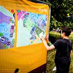 Lambeth Country Show Fabric Maps