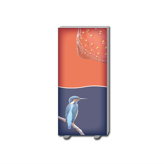 Free standing tension fabric light box