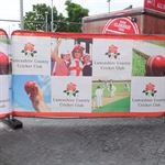 Lancashire Cricket Club Fabric Banners