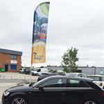 Car Dealership Forecourt Flags