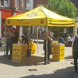 Dogs Trust Custom Pop Up Event Tent Printing