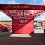 Lovell Bespoke Printed Event Tents
