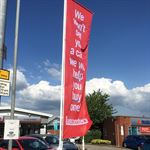 Forecourt Flag Kit