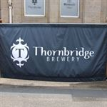 Thornbridge Brewery retail banners