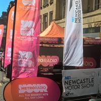 Metro Radio Promotional Pop Out Banners