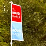The House Maker Showhome Flags