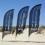 Beach Feather Flags
