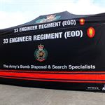 Army Promotional Event Tent